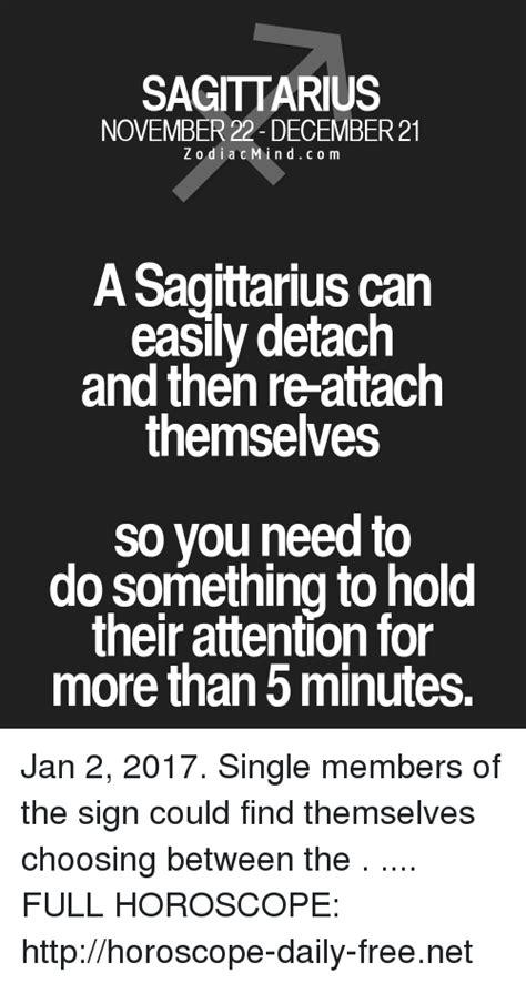 sagittarius horoscope single