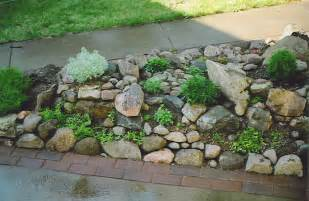 Pictures Of Small Rock Gardens Rock Garden Construction Wiltrout Nursery Chippewa Falls Wi