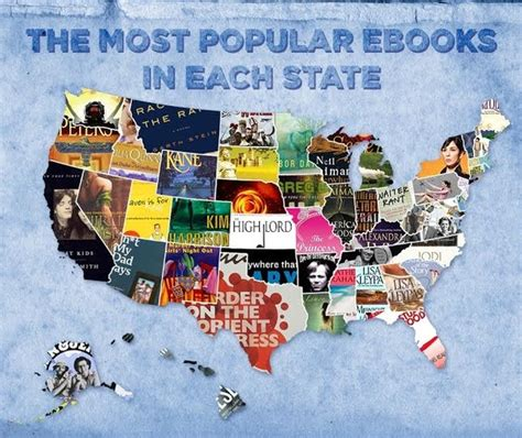 Things What I Consumed Books The Most Downloaded Books In Each State
