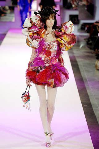 Runway Report Christian Lacroix Couture vanityfair it