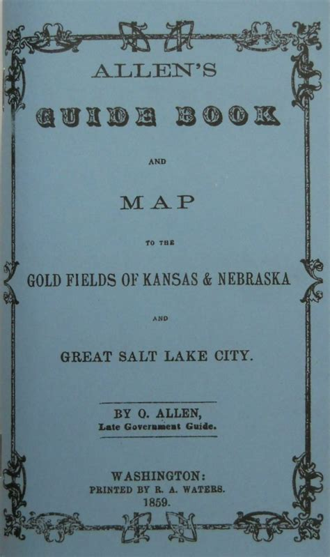handbook to the new gold fields books allen s guide book and map to the gold fields