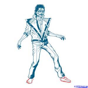 Michael Outline by How To Draw Michael Jackson Thriller Thriller Michael Jackson Step By Step