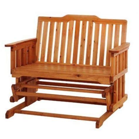 panchina per giardino panchina a dondolo 2 posti in legno da giardino