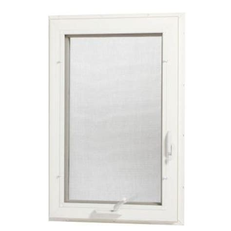 tafco windows 24 in x 48 in left vinyl casement