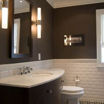 brown subway tile bathroom brown subway tiles contemporary bathroom s r gambrel
