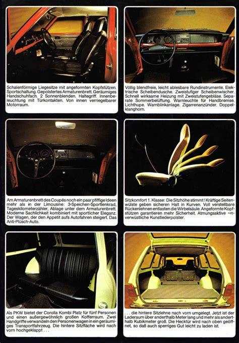 Toyota Brochures 1973 Toyota Corolla Brochure