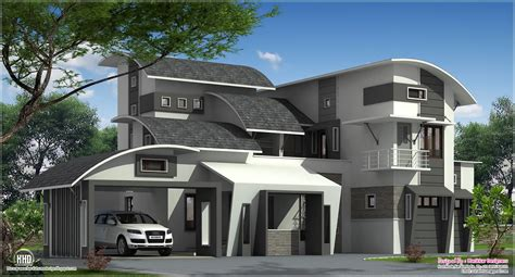 Floor Plan Cad Software by Modern Contemporary Home In Kozhikode Kerala Home