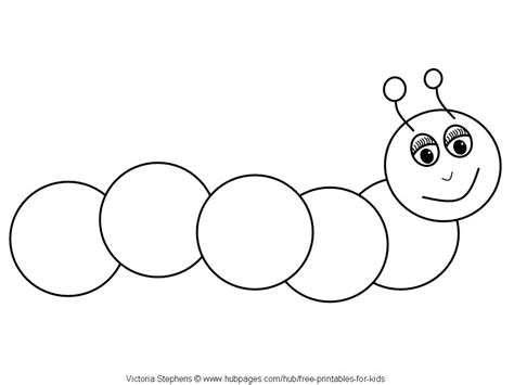 free printable caterpillar number line caterpillar 56 animals printable coloring pages