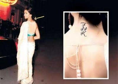 deepika padukone removes tattoo deepika padukone removes