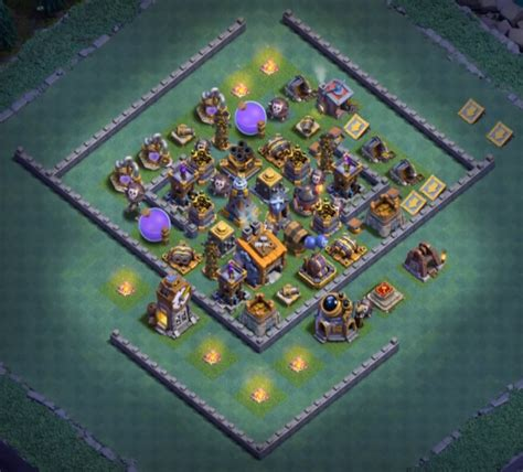latest layout of coc top 14 best builder hall 8 base designs new anti