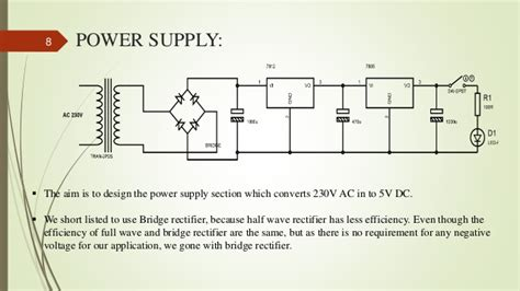 capacitor power supply for microcontroller solar tracking system using 8051 microcontroller