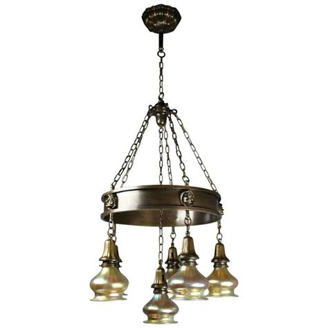 Arts And Crafts Ring Fixture For Sale At 1stdibs Arts And Crafts Lighting Fixtures