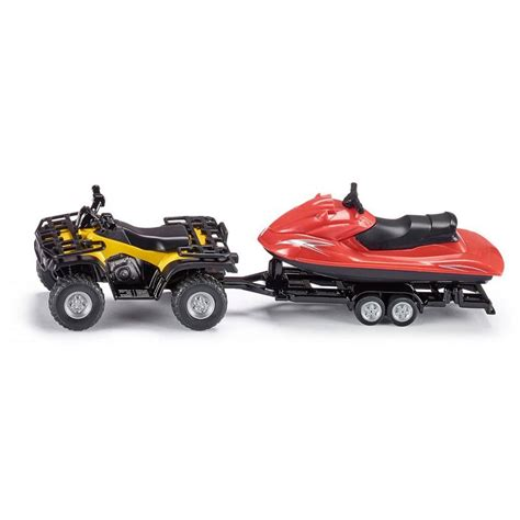 jet ski boat toy siku quad with trailer and jet ski toys kingdom en