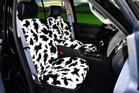 cowhide bench seat cover cow velour seat covers seat covers unlimited
