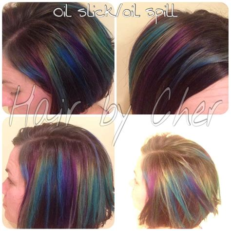 spill color hair color transformation fashion colors slick