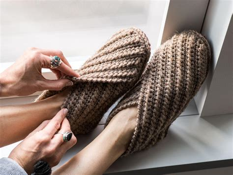 Home Patterns by Crochet These Wrap Slippers Free Patterns 10