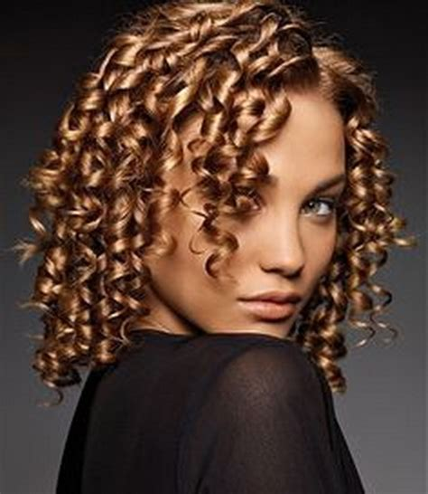 permanent curls for black hair curly perm hairstyles