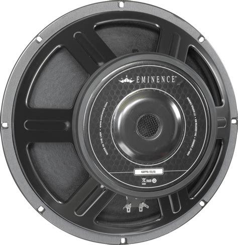 Speaker Subwoofer American speaker eminence 174 american 15 quot kappa 15lfa 600 watts antique electronic supply