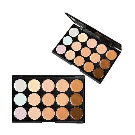 Harga Make Concealer Palette jual jbs mn makeup concealer palette with water sponge