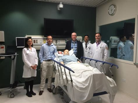 loyola emergency room new neurologists receive stroke with mannequins and other simulation techniques