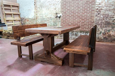 rustic trestle dining table rustic trestle dining room tables peenmedia