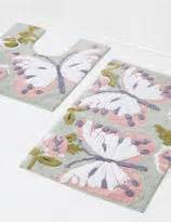 Marks And Spencer Bathroom Accessories Marks And Spencer Butterfly Printed Bath Pedestal Mats Shopstyle Au Home