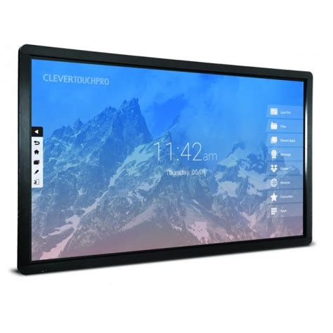 Le Tactile 1544 by Ecran Interactif Tactile Clevertouch Pro Series Led 65