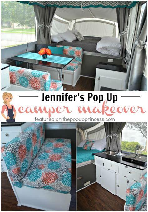 Modernize Kitchen Cabinets Jennifer S Pop Up Camper Makeover The Pop Up Princess