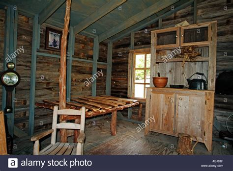 pioneer house inside an old pioneer house stock photo royalty free image 2533406 alamy
