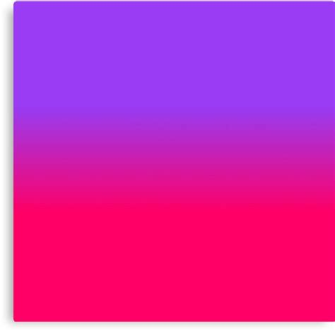 pink purple color quot neon purple and neon pink ombre shade color fade quot canvas