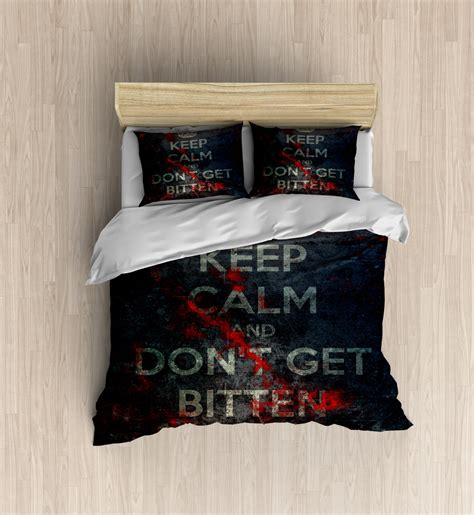 zombie bed sheets zombie bedding keep calm zombie duvet cover duvet set