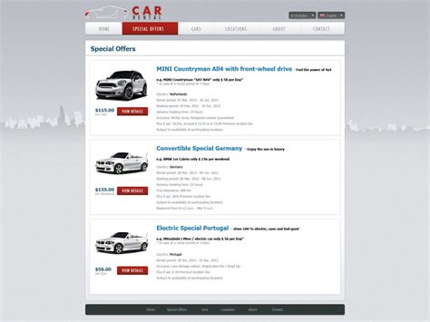 templates for car rental website free car rental website template car rental template