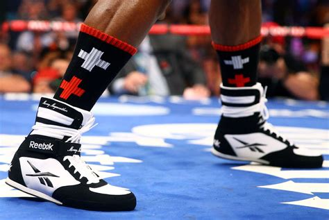 mayweather shoe tale of the tape the floyd mayweather vs manny pacquiao