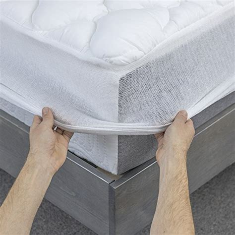 Hotel Bed Mattress Matras Topper Fitted Size Ex King 100 Microgel 1 pressure relief mattress pad with fitted skirt made in the import it all