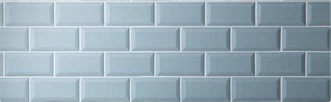 Duck Egg Mini Metro brick shaped glazed ceramic wall tiles