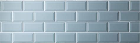 Duck Egg Mini Metro brick shaped glazed ceramic wall tiles