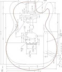 Les Paul Top Carving Template by Free Pdf Guitar Blueprints Lutheria