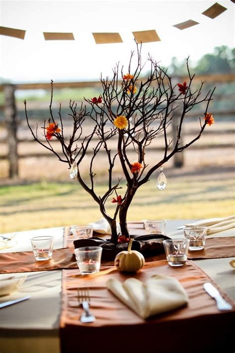 tree branches centerpieces arboles ideas de decoraciones hechas por ramas
