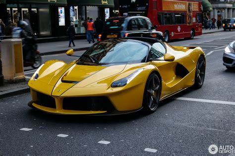 gold ferrari laferrari ferrari laferrari aperta 9 march 2017 autogespot