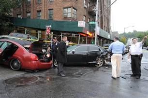 new york news car accidents 4 car crash kills driver in manhattan ny daily news