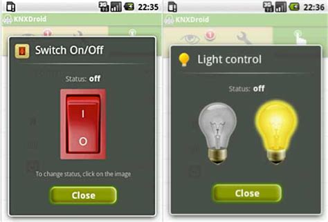 knxdroid brings knx home automation to android users