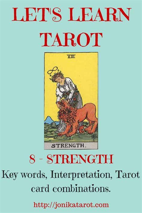 Tarot 8 Strength the strength tarot card jonika tarot