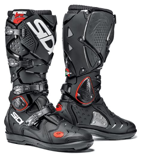 dirt bike motorcycle boots sidi crossfire 2 srs boots revzilla