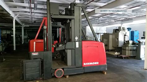 swing reach forklift raymond swing reach forklift 2000