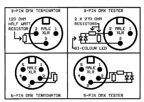 dmx512 termination resistor make a dmx tester blognya kulilu