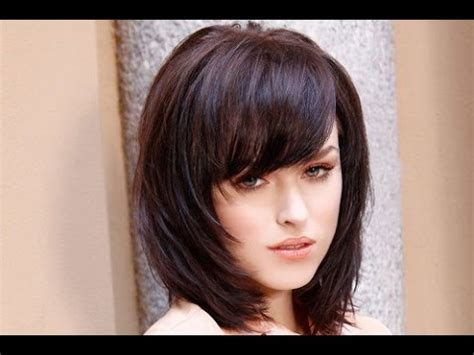 how to fix bangs on shoulder length air 30 shoulder length hairstyles with bangs and layers
