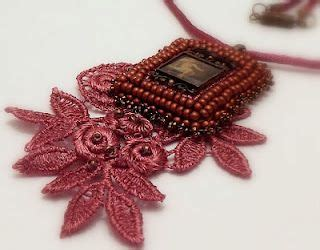 beadwork lace lace beadwork cabochon jewelry lace