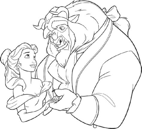 disney beauty and the beast coloring pages to print disney chanel colouring pages