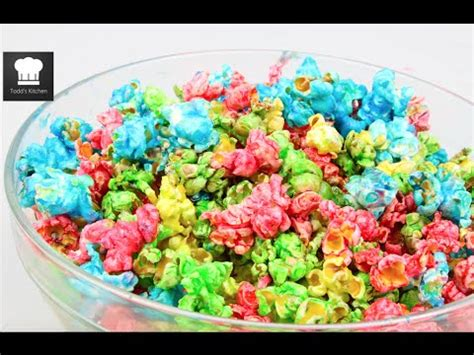 how to color popcorn how to make rainbow popcorn