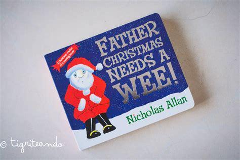 libro father christmas 30 libros de navidad para ninos tigriteando